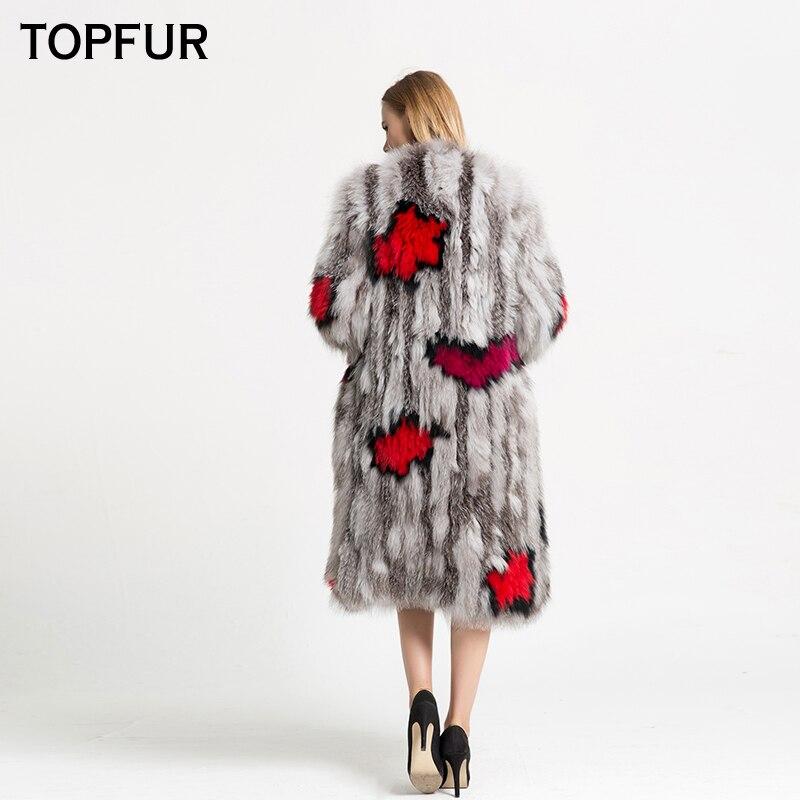 De 2018 High gray Raton Réel Luxe Tricoté Manteau Qualité White V Top Fourrure Cm Col 110 Femmes Nouveau Arrivée Laveur Street Longue Veste Topfur tgxwqnOdt