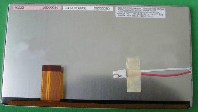 все цены на  LQ070T5GG21 LQ070T5GG08 LQ0DAS1022 Brand New Original 7 inch LCD display with touch screen digitizer for Car GPS navigation  онлайн