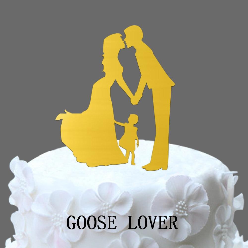 Bride And Groom Wedding Cake Topper, Family Wedding Funny Cake ...