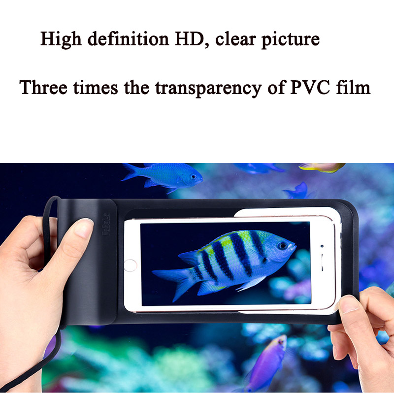 Cong fee Waterproof Case and can Swimming phone case for iPhone X XS MAX 8s 7s 6s in Phone Pouches from Cellphones Telecommunications