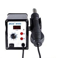 858D 700 W Udara Panas Gun Seksi Udara Desoldering Station 110 V 220 V Tampilan Digital Dapat Dikontrol Suhu Ponsel alat Perbaikan