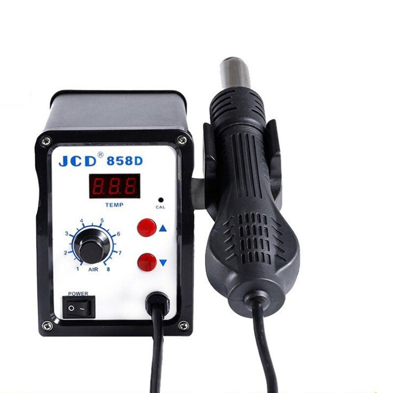 858D 700W Hot Air Gun Hot Air Desoldering Station 110V 220V Digital Display Controllable Temperature Mobile Phone Repair Tools