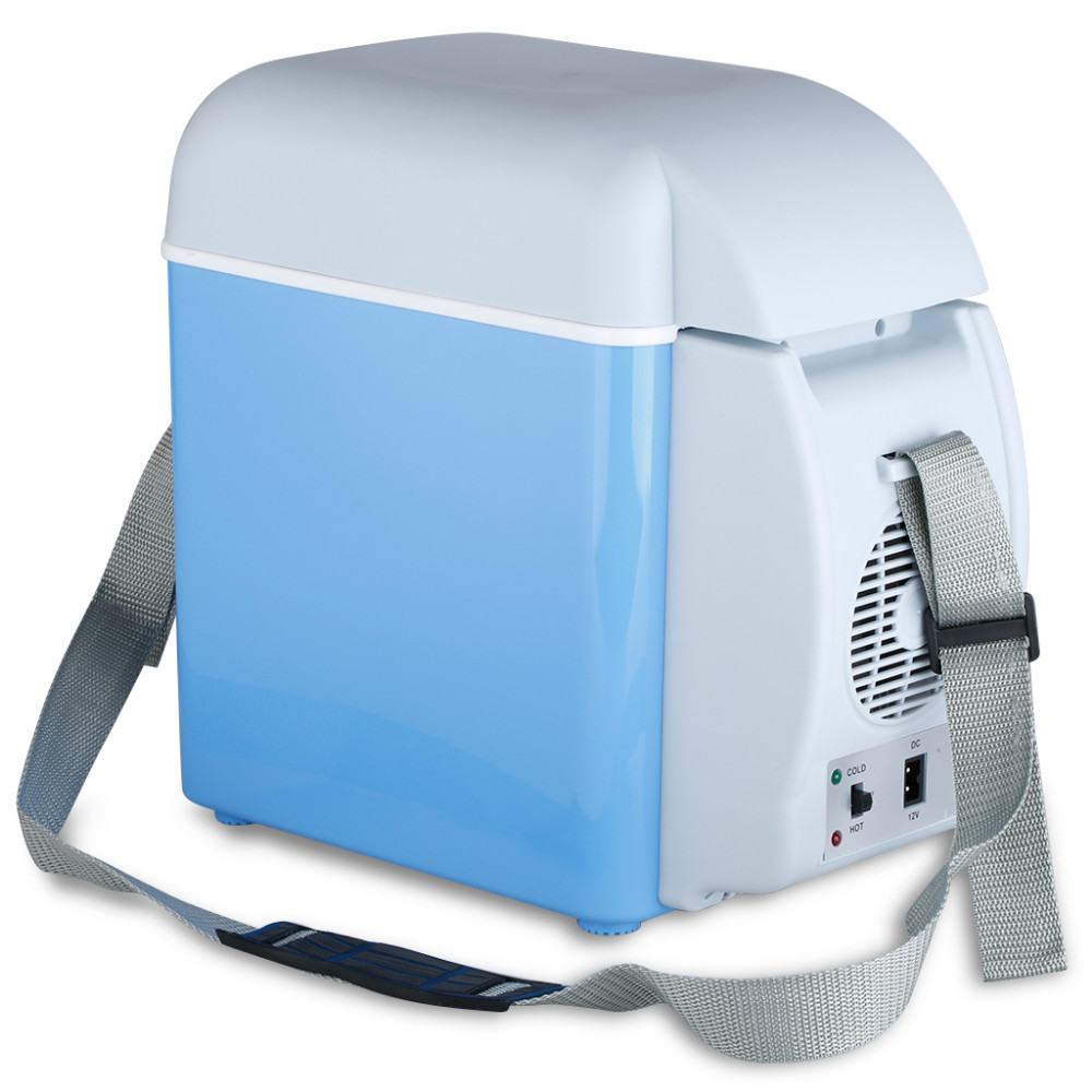 Portable 12V 7.5L Auto Car Mini Fridge Travel Refrigerator