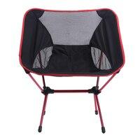 Ultra-Léger Chaise Pliante En Plein Air Randonnée Camping Chaise Portable Léger En Plein Air de Pique-Nique BARBECUE Siège De Pêche Accessoires
