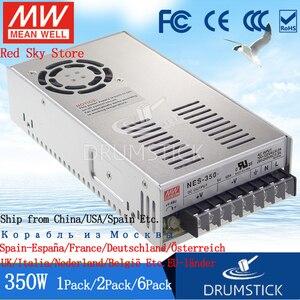 Image 2 - יציב Meanwell 350W כוח אספקת LRS 350 24V 5V 12V 15V 36V 48V 5A 15A 29A 60A DC תצוגת LED אור רצועת צג NES