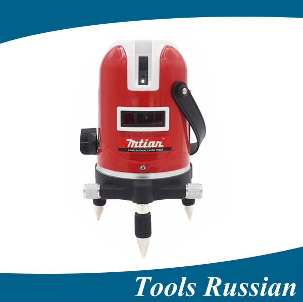 ship from Russia,5 lines 6 points laser level 360 rotary cross laser line leveling with outdoor model5 lines 6 dots laser level 1pc laser cast line machine multifunction laser line cross line laser rotary laser level 360 selfing leveling 5 line 4v1h3 point