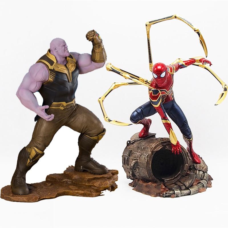 Marvel Comics Thanos ARTFX spiderman Hero Series Marvel Avengers 3 Infinity War Action