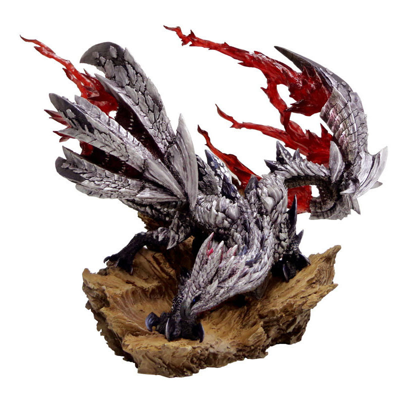 2018 New Monster Hunter <font><b>XX</b></font> Dragon Model Collectible Monster Figures Action Japan Monster Hunter Game Model Children's <font><b>Toy</b></font> Gifts image
