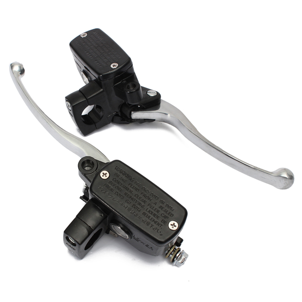1 Piece 1 Inch Universal CNC Motorcycle Brake Hydraulic Headlebar Control Cylinder Master Clutch Lever For Scooter