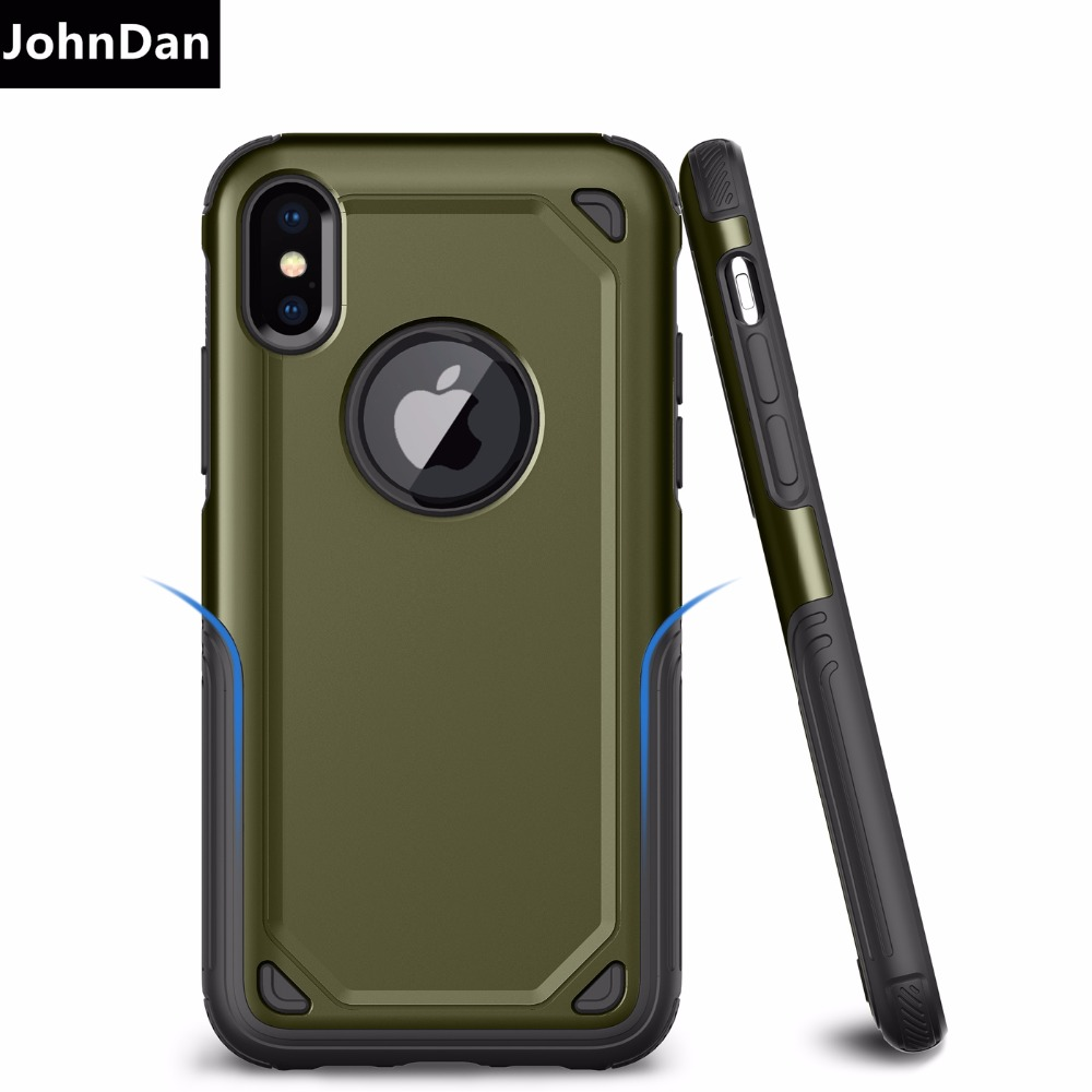 For Apple iPhone 6s 8 7 6 Plus X XR XS Max PC + TPU Military Anti Shock Camouflage Armor Case For iPhone XS Max X XR Cover Cases iphone