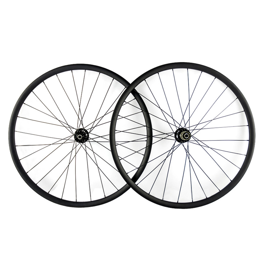Smileteam New Model MTB 3K Full Carbon Fiber 29er 27 5er Bike Wheels Clincher Carbon 29er