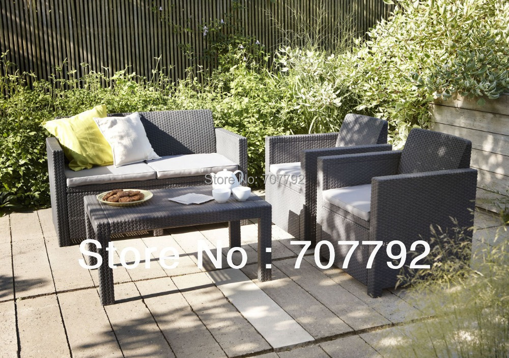 rattan lounge möbel-kaufen billigrattan lounge möbel, Terrassen deko