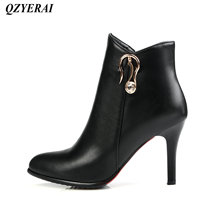 QZYERAI Four seasons can be worn ladies stiletto Martin boots womens boots fashionable womens shoes fringe leisure