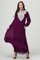 Fashion Muslim Dress Abaya Islamic Clothing for Women Malaysia Robe Musulmane Turkish Tunic Women Clothing 2019 Long Dress