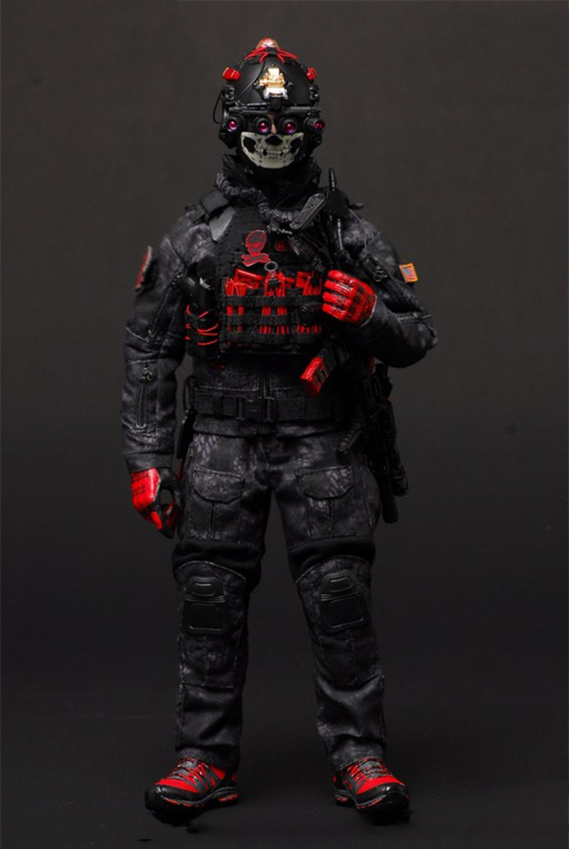 1/6 De Navy Seal CQB Combat Tactische Kleding voor 12 ''Lichamen-in Actie- & Speelgoedfiguren van Speelgoed & Hobbies op  Groep 2