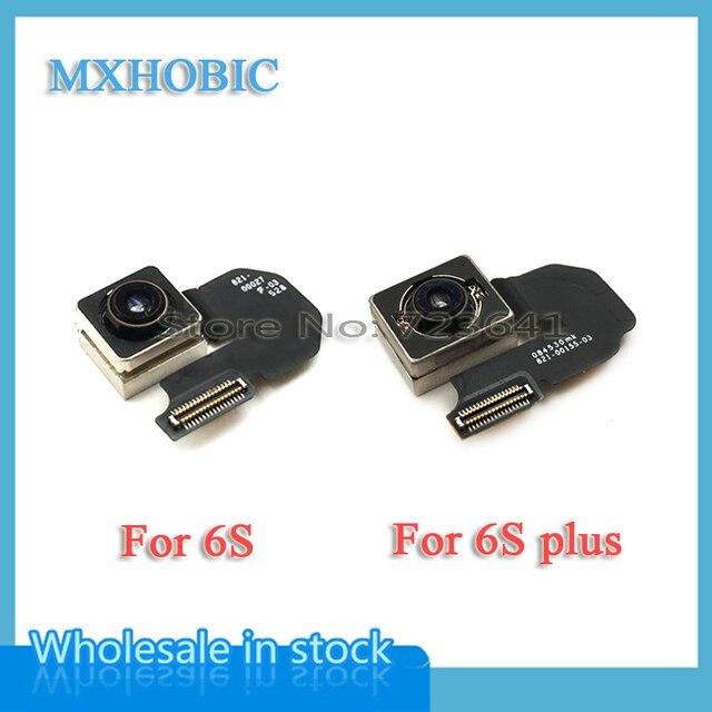 1Pcsด้านหลังกล้องFlex CableสำหรับiPhone 6S 7 8 Plus X XS Max XR 11 Pro maxแฟลชริบบิ้นโมดูลชิ้นส่วนซ่อมเลนส์เปลี่ยน