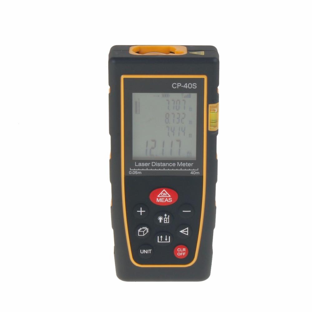 ФОТО CP-40S 40M Digital Laser Distance Meter Range Finder Measure