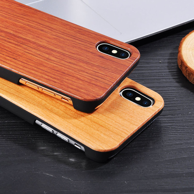 Solid Wood Case for iPhone 4