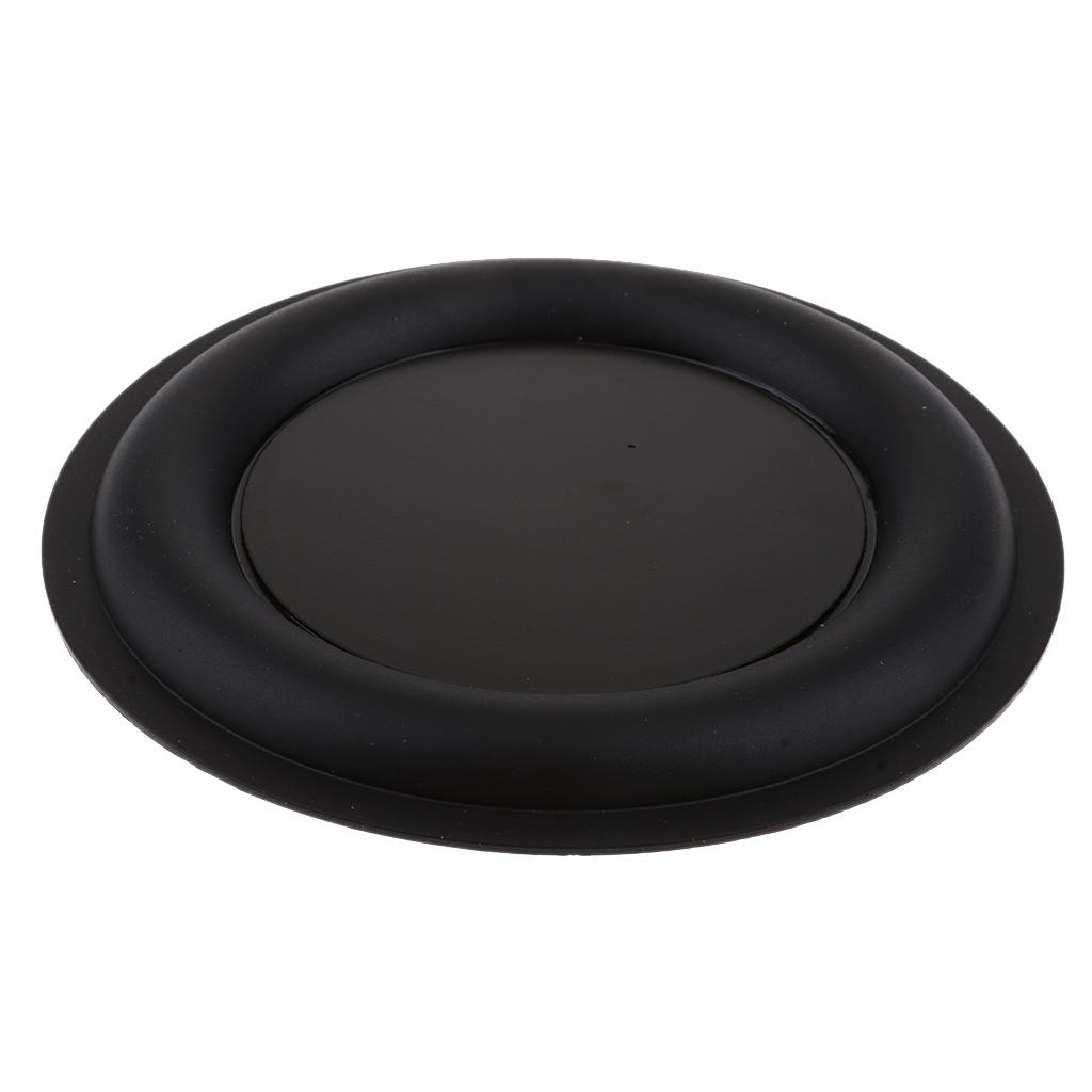6.5inch 160mm DIY Bass Speaker Vibrating Membrane Stereo Strengthen Bass Vibration Plate Membrane Passive Woofer Diaphragm Plate