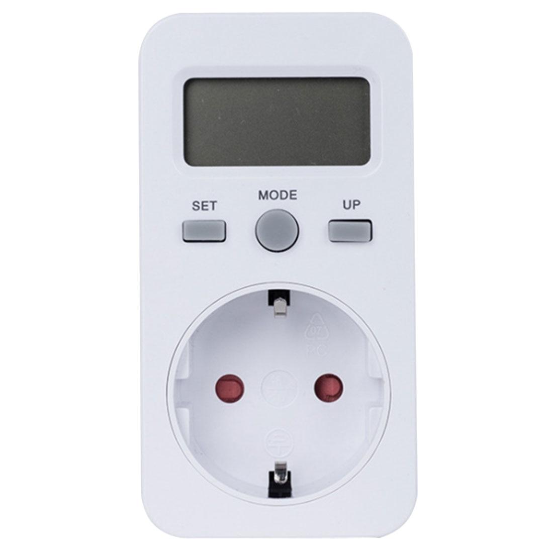 1 stücke Digital Power Meter Watt Strom Usage Monitor Buchse Verbrauch Meter Strom Usage Monitor Power Energie Buchse