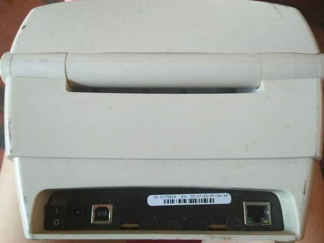 Ethernet prot Zebra GK888T Desktop Direct Thermal/Thermal Transfer Label  Printer, 4