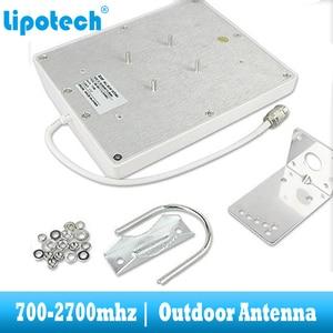 Image 3 - 8dbi 700 2700 Mhz 2G 3G 4G חיצוני פנל אנטנת GSM CDMA WCDMA UMTS משחזר אנטנה LTE בוסטרים/מגבר חיצוני אנטנה