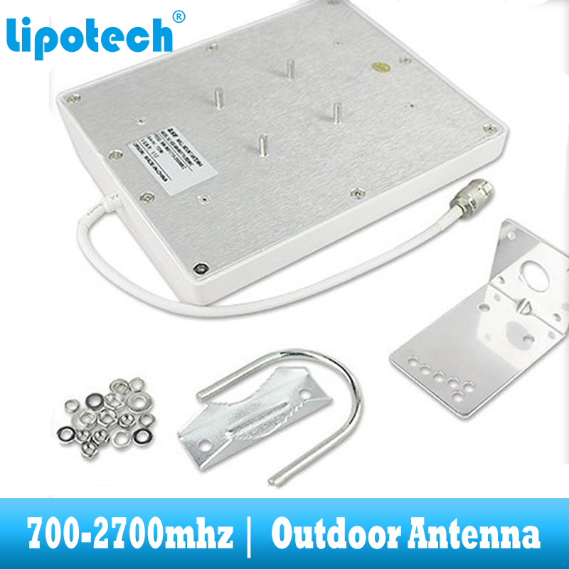 Image 3 - 8dbi 700 2700Mhz 2G 3G 4G Outdoor Panel Antenna GSM CDMA WCDMA UMTS Repeater Antenna  LTE Booster / amplifier External Antenna-in Signal Boosters from Cellphones & Telecommunications
