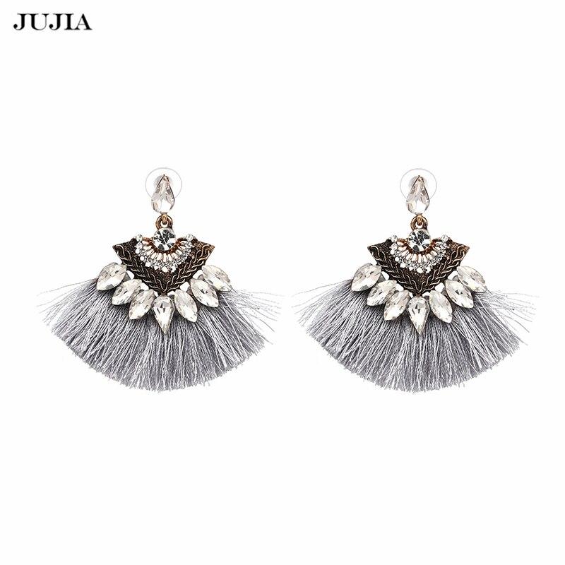 Vintage Fringing drop Earrings Fashion 2018 brand Boho ...