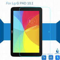 For Lg G Pad 10 1 V700 Tempered Glass Screen Protector 9h Safety Protective Film On