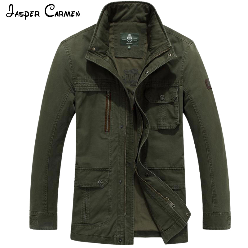 2017 AFS JEEP Jacket  Spring And Autumn New Stand Collar  Men