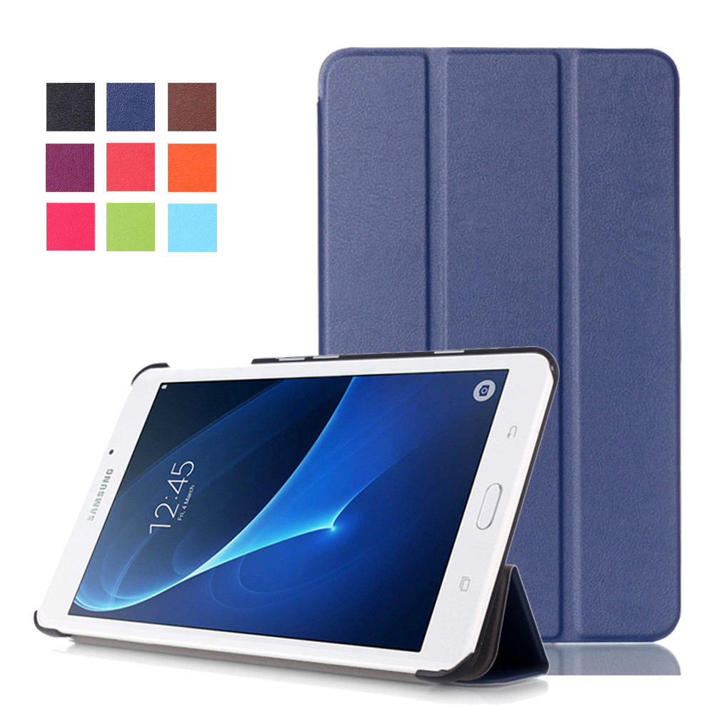 For Samsung A6 7.0 Magnetic Stand Pu Leather Case Cover For Samsung Galaxy Tab A 7.0 T280 T285 7 Tablet Fundas Cases