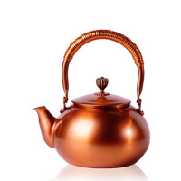 Chinese copper teapot prime high end home handmade coppers pot teapot tea filter 1200ML