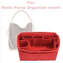 Fits Melie Purse Organizer Insert - 3MM Premium Felt (Handmade/20 Colors)