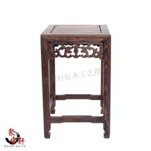 Household act the role ofing is tasted chicken wings wood square table of Buddha vase flowerpot aquarium handicraft base
