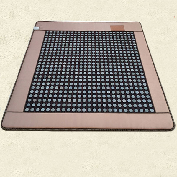Natural Jade Cushion Germanium Stone Tourmaline Heated Mat Jade Health Care Physical Therapy Mat 120x190cm korea natural jade cushion germanium stone tourmaline heated mat jade health care physical therapy mat 150x50cm free shipping
