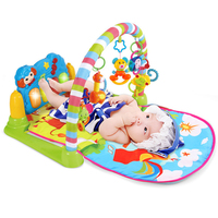 Baby Piano Music Playmat Toys Kids Infant Sports Mats Gym Educational Rack Toys Activity Gym Toys