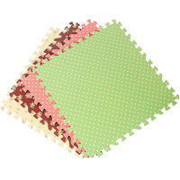 9pcs/lot Baby EVA Foam Floor Play mats rug Protective Tile Flooring carpets 30X30cm thick 1cm Children's carpet Baby toys