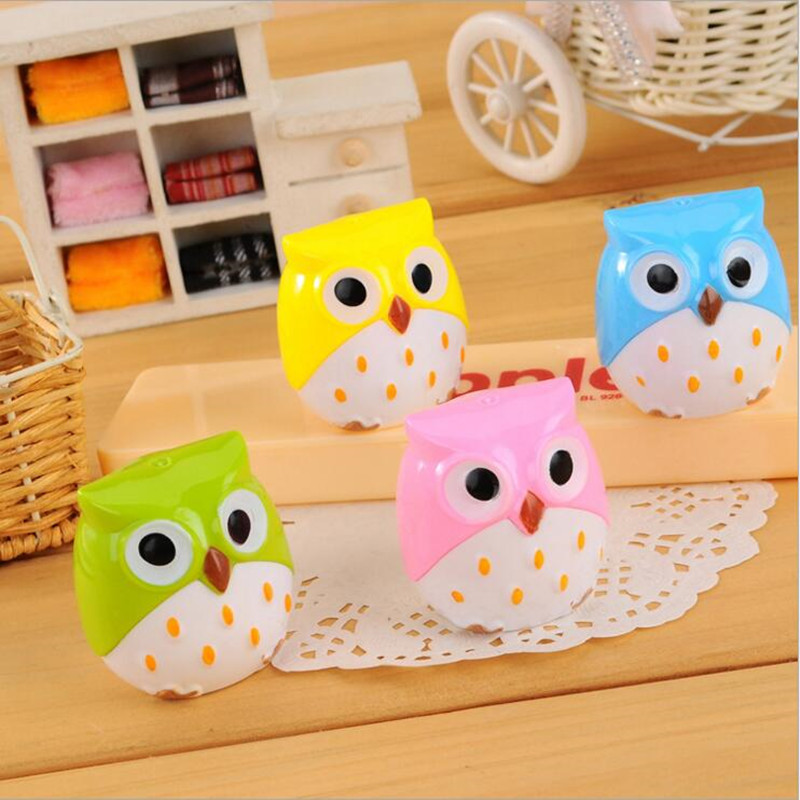 1Pcs Kawaii Owl Pencil Sharpener - Creative Gifts For Kids - $1.99 1