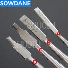 Инструмент для зубного имплантата из нержавеющей стали, Зубное долото из охсенбеина, зубной костный нож, костный разделитель, инструмент для оральной хирургии