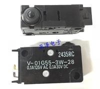 10PCS LOT V 01G55 3W 28 Waterproof Micro Switch Limit Detection Switch 0 1A125V