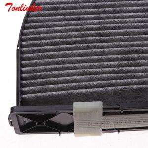 Image 5 - Cabin Filter For Mercedes benz e class C207 E 200 220 250 260 300 350 400 500 2009 2010 2018 Model Car Accessories Oem2128300318