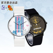 GINTAMA Anime Quartz Watches Waterproof Role Gintoki Kagura Sadaharu Comics Cartoon Best Friend Gift
