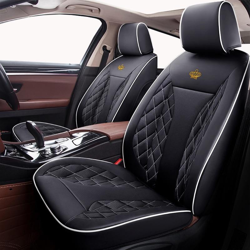 Housse de siège de voiture en cuir sur mesure pour Volvo S60L V40 V60 S60 XC60 XC90 C70 accessoires de voiture