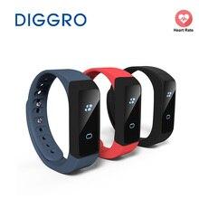 Diggro i5 плюс OLED умный Браслет Шагомер traker калорий Здоровье сна монитор браслет Bluetooth 4.0 часы для iOS и Android