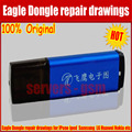 New Original Eagle Dongle Repair mobile phone circuit board Repair mobile phone PCB the circuit drawings ZXW Dongle upgrade vers