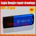 Nueva Original Águila Dongle Reparación del teléfono móvil teléfono móvil de Reparación de placa de circuito PCB circuito dibujos ZXW Dongle actualizar vers