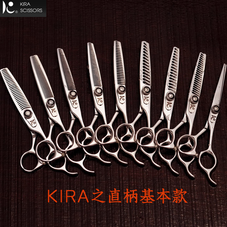 """Japan Hot """"HERCULES"""" Professionele Kapper Haar Dunner Schaar 6 Hoge Kwaliteit Kapper Kapsalon Shears H 45-in Haar schaar van Schoonheid op  Groep 1"""