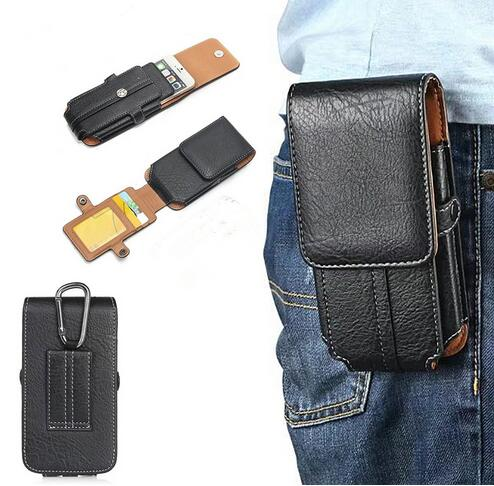 Waist Clip Holster Phone Bag Case For <font><b>HOMTOM</b></font> HT70 Doogee S60 S30 S50 Lite S90 Pro AGM A9 X1 A8 CAT S61 S60 S30 S40 S41 S31 Bag image