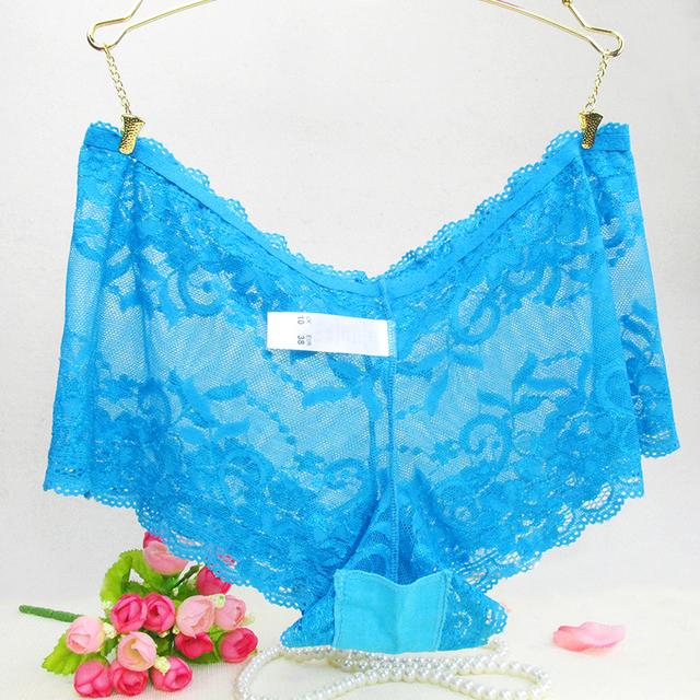 Sexy Lace Seamless Underwear Women Ultra Briefs Panties Lady Fashion Thin Lady Plus Size panties Lace