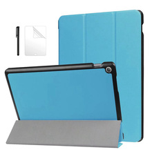Magnetic PU Leather Case For Asus ZenPad 10 Z300 Z300C Z300CL Z300CG Z300M Z301 Z301ML 10.1 inch protective Tablet Case+flim+Pen